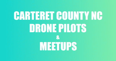 flying drones in Carteret County NC