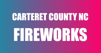 Where to find fireworks Carteret NC