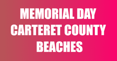 Carteret County NC Memorial Day Things