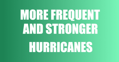 stronger hurricanes becoming more frequent