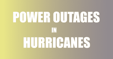 Do downed power lines in hurricane?