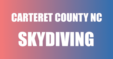 NC Carteret County skydiving jump and train
