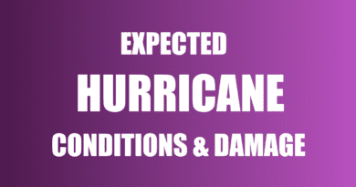 hurricane expectations damage and weather conditions